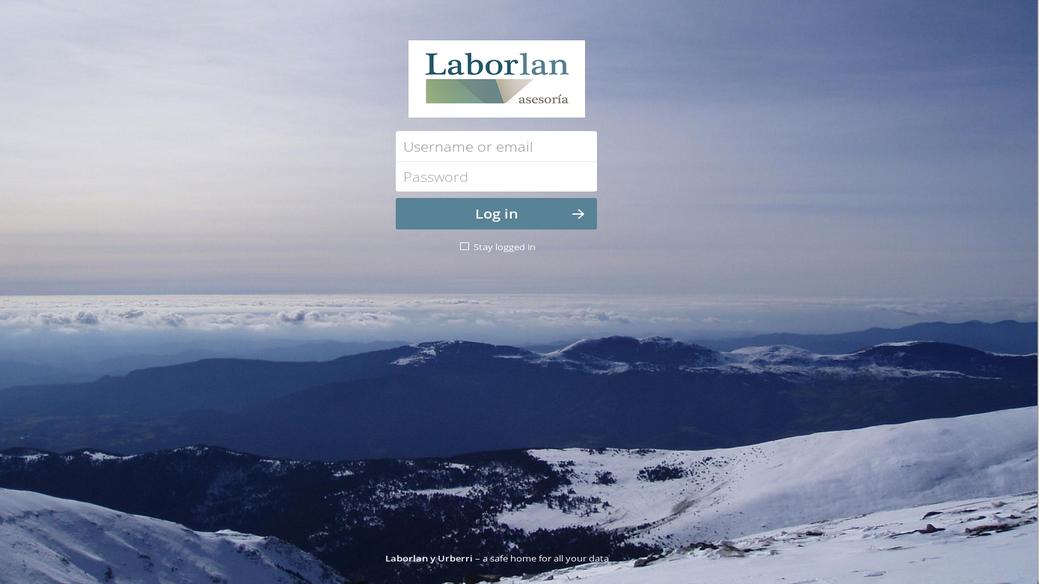 Infraestructura de nube privada para Laborlan